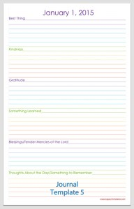 Journal Template 5