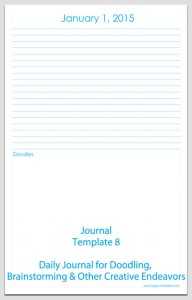 Journal Template 8