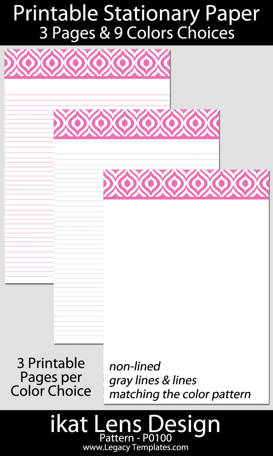 how to make downloadable stationery pdf