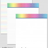 Printable Stationary Paper with a Chevron Pattern P0140 – 8.5″x11″