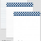Printable Stationary Paper with a Chevron Pattern P0141 – 8.5″x11″