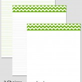 Printable Stationary Paper with a Chevron Pattern P0149 – 8.5″x11″