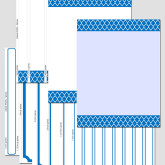 Ink-Friendly Binder Cover with a Marrakesh Trellis Moroccan Pattern P0106 – 8.5″x11″