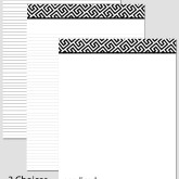 Printable Stationary Paper with a Fret Pattern P0107 – A4