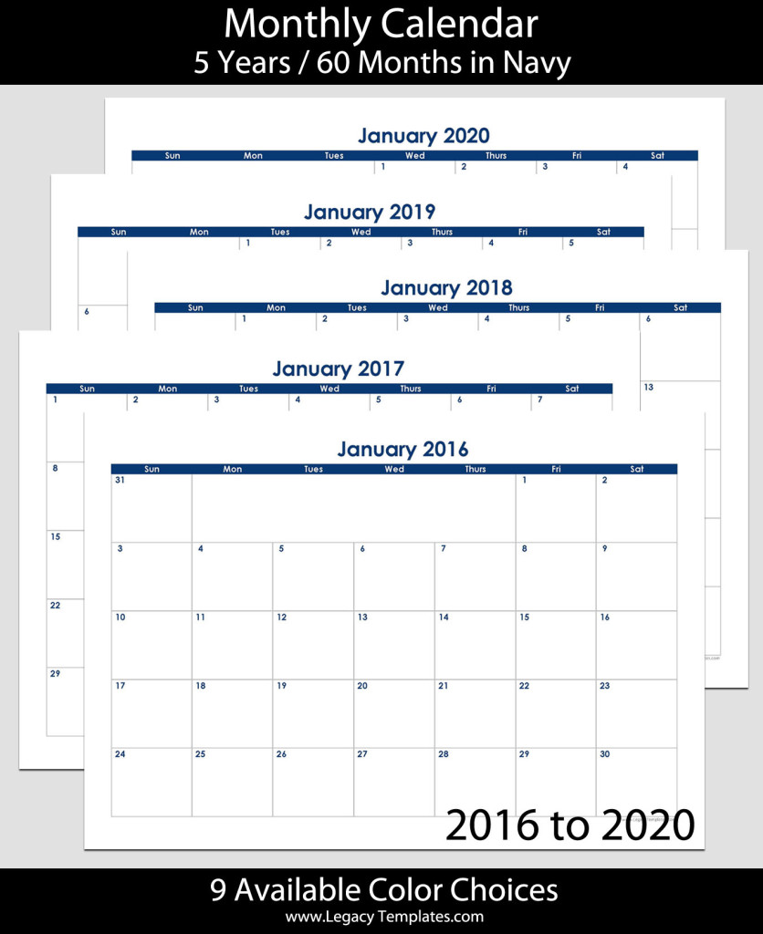 Year Monthly Calendar : To month landscape calendar a legacy