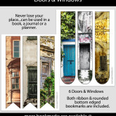 Doors & Windows Bookmarks – Set of 6 – MSC0003