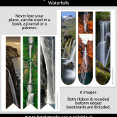 Waterfall Bookmarks – Set of 6 – PHY0001