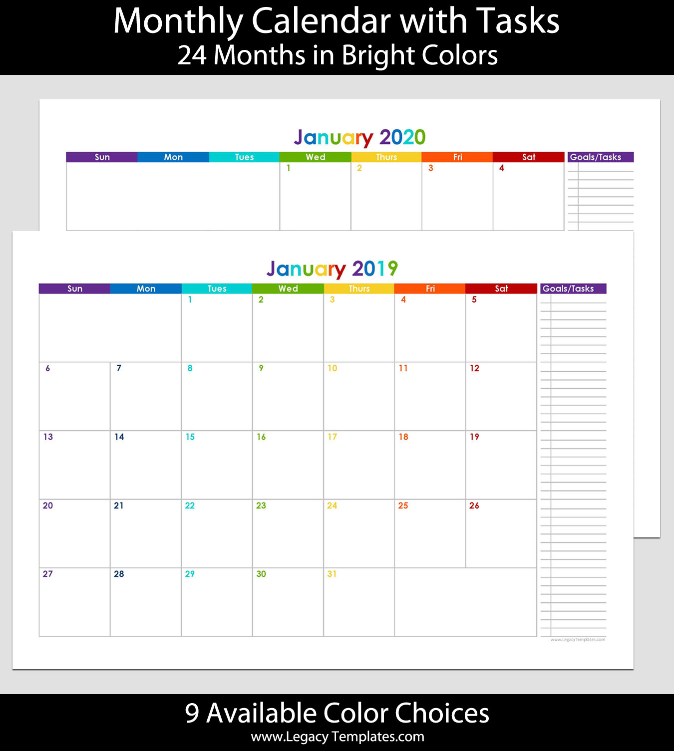 Tusd Calendar 2020-2016 12 Month Calendar 2020 – Daily Motivational Quotes
